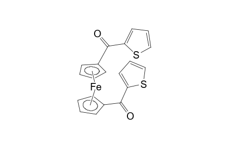 ketone, cyclopentadienyl 2-thienyl, iron derivative