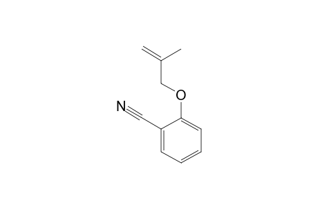 2-(2'-METHYLPROP-2'-ENYLOXY)-BENZONITRILE