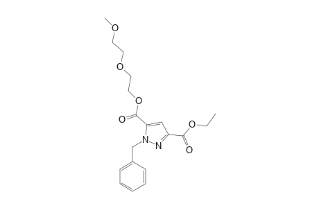 5-(3',6'-DIOXAHEPTYL)-3-ETHYL-1-BENZYLPYRAZOLE-3,5-DICARBOXYLATE