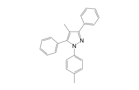 4-methyl-1-(4-methylphenyl)-3,5-di(phenyl)pyrazole