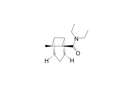 N,N-DIETHYL-5-METHYL-TETRACYCLO-[3.2.0.0(2,7).0(4,6)]-HEPTAN-1-CARBOXAMIDE