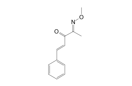 4-METHOXYIMINO-1-PHENYLPENT-1-EN-3-ONE