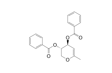 1,5-ANHYDRO-2,3-DI-O-BENZOYL-4,6-DIDEOXY-L-THREOHEX-4-ENITOL