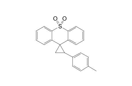 2-PARA-METHYLPHENYL-SPIRO-[CYCLOPROPAN-1,9'-THIOXANTHEN-S,S-DIOXID]