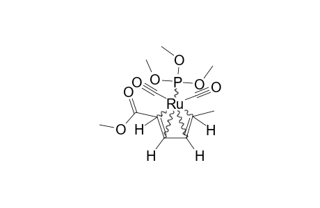 DICARBONYL-[2-5-ETA-(METHYL-(2E,4E)-HEXA-2,4-DIENOATE)]-(TRIMETHOXYPHOSPHINE)-RUTHENIUM