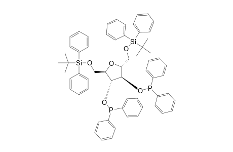 3,4-BIS-O-(DIPHENYLPHOSPHINO)-1,6-DI-O-(TERT.-BUTYLDIPHENYLSILYL)-2,5-ANHYDRO-D-MANNITOL