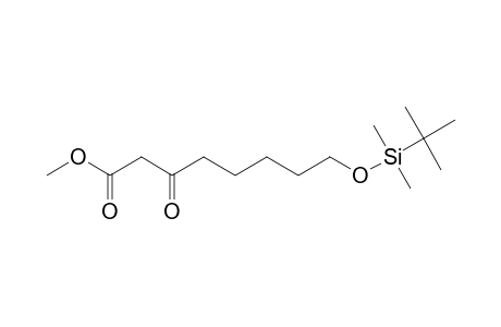 8-(TERT.-BUTYLDIMETHYLSILOXY)-3-OXO-OCTANOIC-ACID,METHYLESTER
